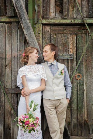 Свадьба в деревенском стиле