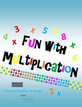 Multiplication Games {Printables}