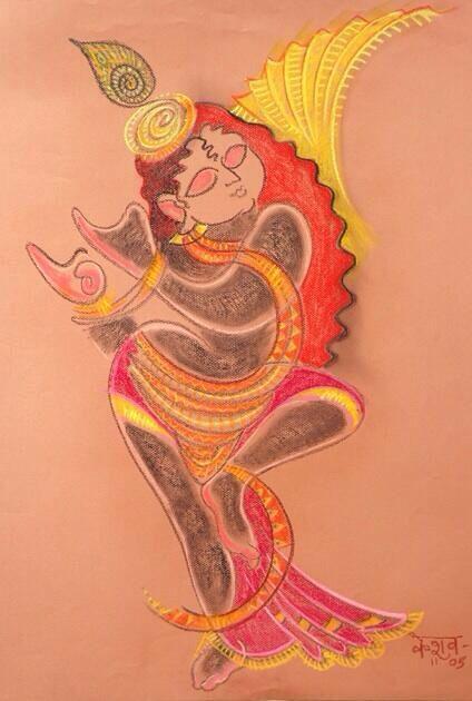 krishna tattoo idea keshavji pinterest krishna tattoo krishna and radhe krishna. Black Bedroom Furniture Sets. Home Design Ideas