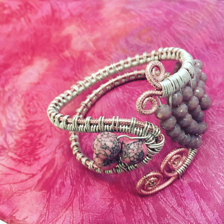 The 59 best Handmade Wire Bracelets by Pictor Design images on Pinterest
