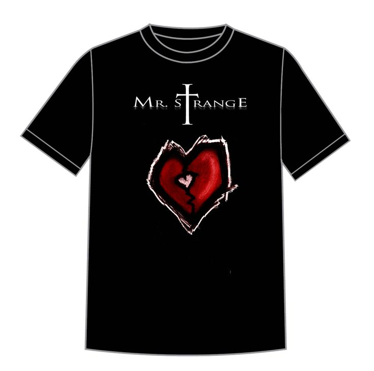 Mr. Strange Heart T-Shirt