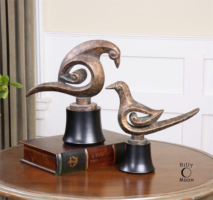 Uttermost Aram Bird Sculptures S 2