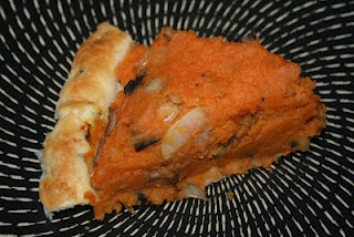 Sweet Potato & bacon Pie