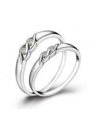 Paar ringen op de ring 063 kan een enkele verkoop van Valentijnsdag worden