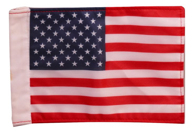 "American Flag 6"" x 9"" Nylon #Motorcycle Flag Red White and Blue"