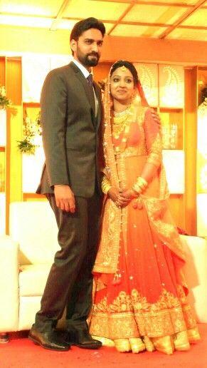 www.sameepam.com   Bride and groom