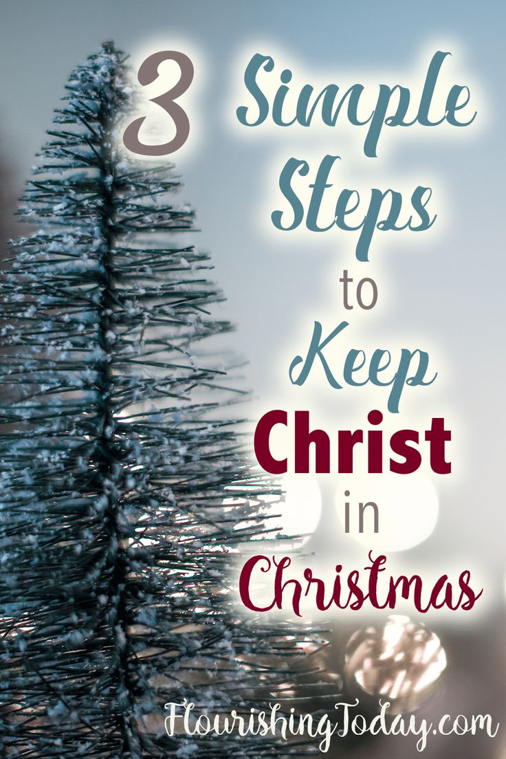 keep christ in christmas Advent is the time of reflection and preparation before christmas it offers the opportunity to pause and consider the state of our souls, not our shopping lists.