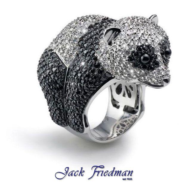 Animal Collection | Hugging Panda Ring jackfriedman.co.za