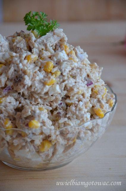 Я люблю готовить: салат с тунцом и рисом