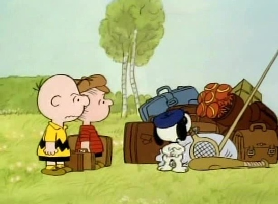 Packing for France - Bon Voyage, Charlie Brown
