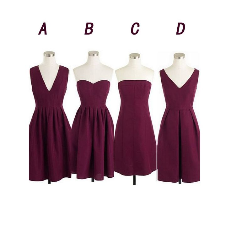 Maroon bridesmaid dresses, short bridesmaid dresses, cheap bridesmaid dresses, chiffon bridesmaid dresses, custom bridesmaid dresses, 17123 sold by OkBridal. Shop more products from OkBridal on Storenvy, the home of independent small businesses all over the world.