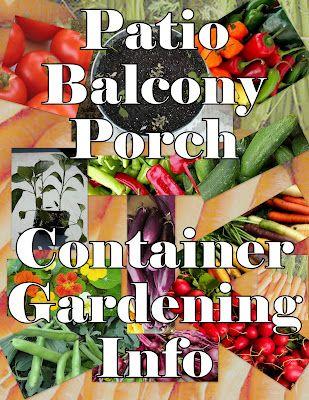 Patio or Balcony Gardening