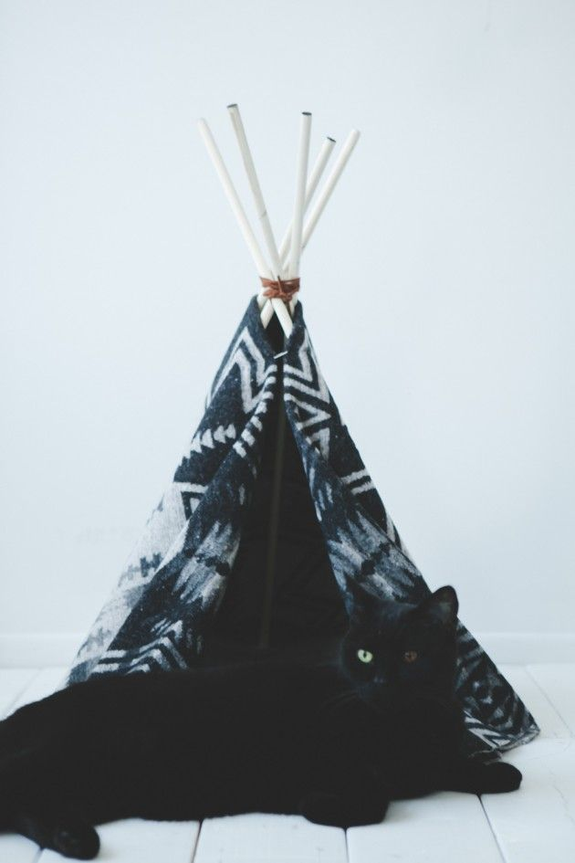 Like this @Kaitlyn Marie Harun? How amazing would it be with a wool blanket that is past its prime as a blanket!