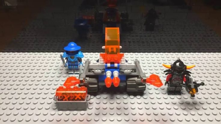 Lego Nexo Knights Knighton Battle Blaster - 70310