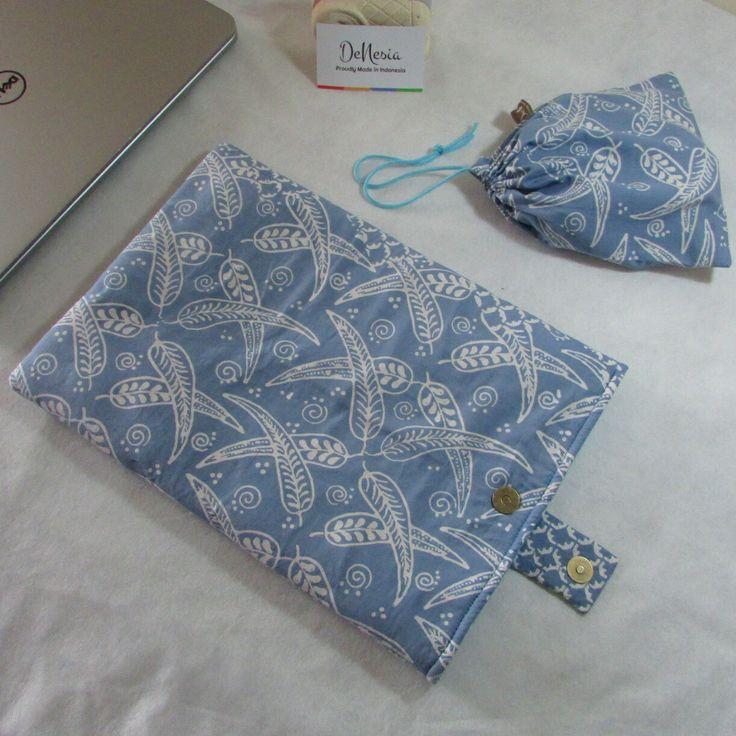DeNesia's Ethnic Batik Laptop Sleeve | Sarung Laptop Batik | LS03