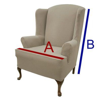How To Measure For Wingback And Recliner Covers Sizing Things Up Pintere