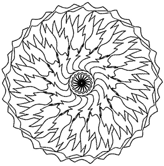 1000 ideas about mandala a imprimer on pinterest - Mandalas adultes gratuits ...