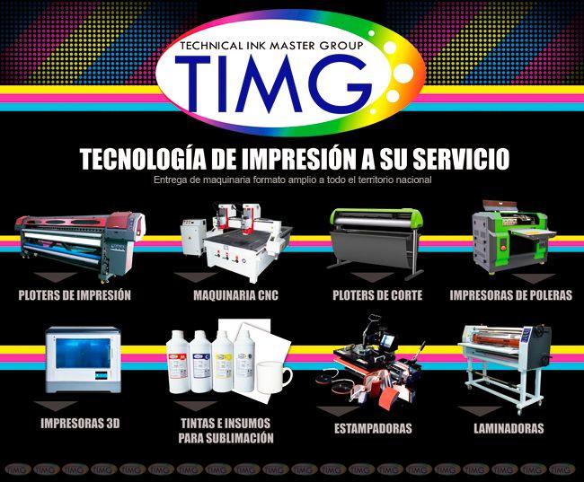 ¡Tenemos todo lo que desea en tecnología de impresión y sublimación al alcance de sus manos! Infórmase más sobre nuestro catálogo y disponibilidad ¡Contáctenos! #TIMG #Chile #Suministros