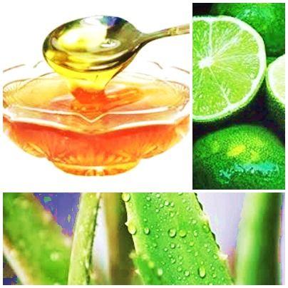 Resultado de imagen para colon remedios caseros miel, sabila y limon