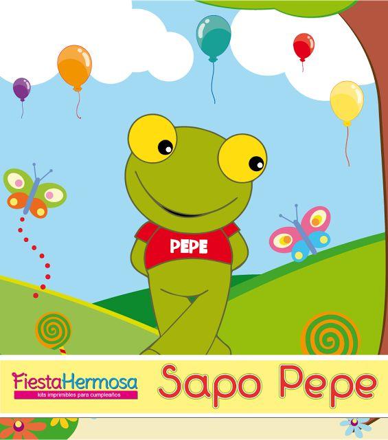 Fiesta Hermosa: Sapo Pepe y Sapa Pepa de porcelana fría