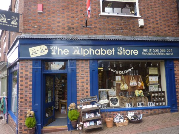 The Alphabet Store, Leek, Staffordshire