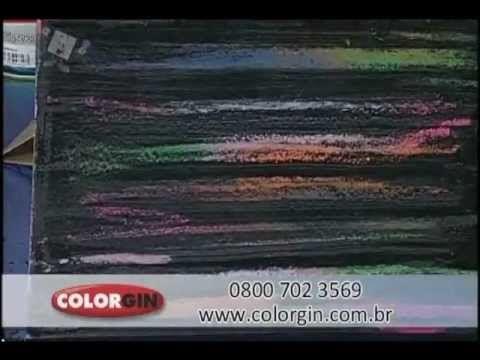 Colorgin no Ateliê na TV - Pátina mexicana em MDF