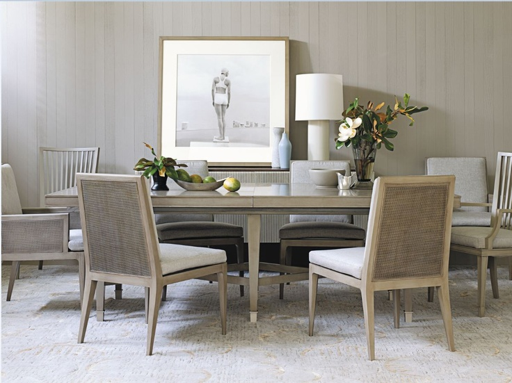 Best Barbara Barry Images On Pinterest Living Room Ideas - Barbara barry dining table parsons