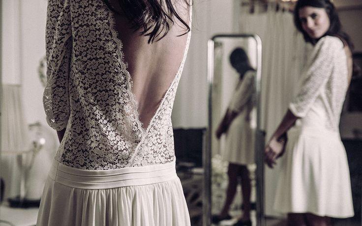 Laure de Sagazan   Robes de mariée   Collection Collection civile