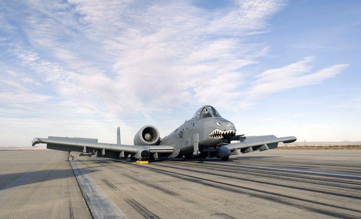 A-10 gear up landing