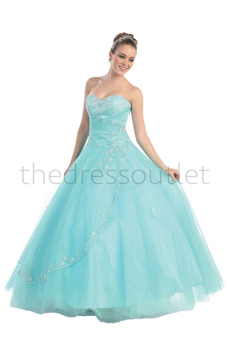 122 best Quinceanera Dresses images on Pinterest | Princess fancy ...