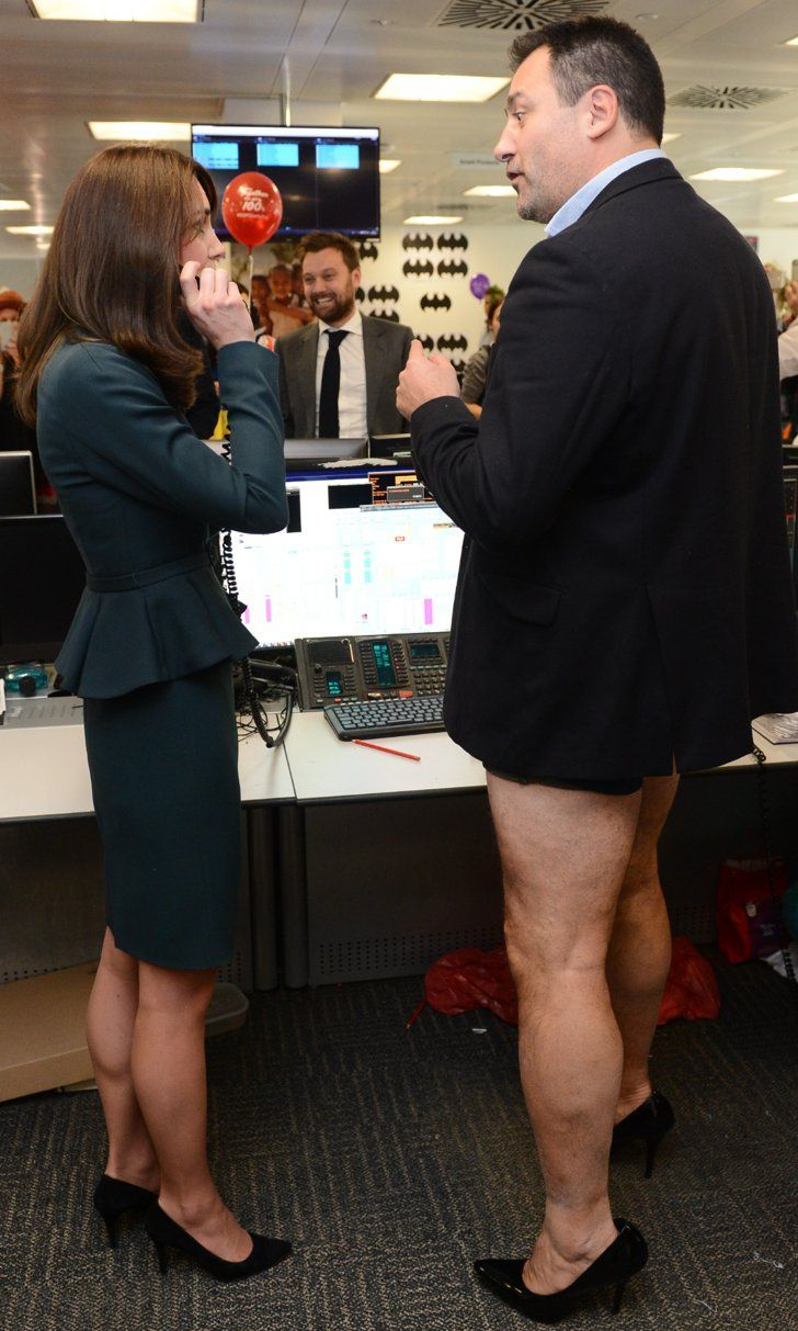 Pin for Later: The Duchess of Cambridge's Latest Appearance Includes Witches, Ping-Pong, and Bottomless Men in Heels