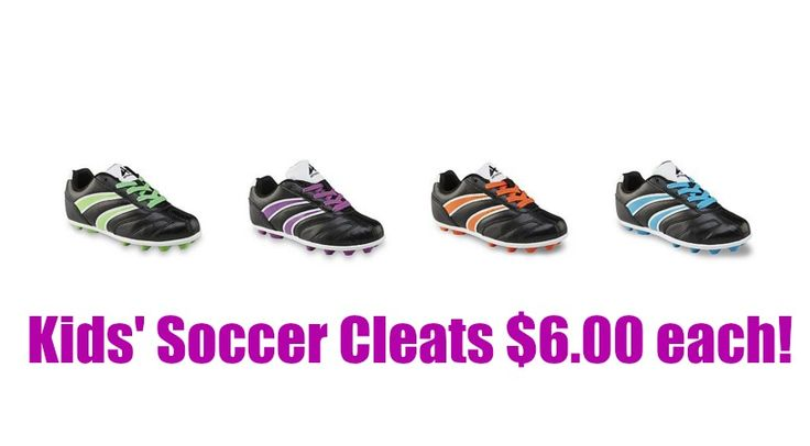 WOW! Kids' Cleats ONLY $6.00 (reg. $10.99)! - http://mypersonalshopper.net/wow-kids-cleats-only-6-00-reg-10-99/