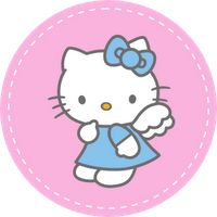 Free Download Cute Printables Template: Birthday... Hello Kitty. http://freeprintabletemplate.blogspot.com