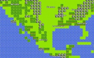 Old school flashback! Google couldn't wait for April Fools' Day to prank the web with its 8-bit version of Google Maps, temporarily replacing its standard version.