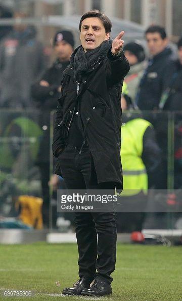 01-24 MILAN, ITALY - JANUARY 21: AC Milan coach Vincenzo... #montella: 01-24 MILAN, ITALY - JANUARY 21: AC Milan coach Vincenzo… #montella