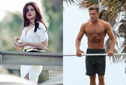 Hot Photos of Priyanka Chopra's Co-Star Zac Efron from the sets of 'Baywatch' : MagnaMags