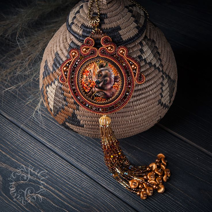 Soutache jewelry by Yulia Logvinova