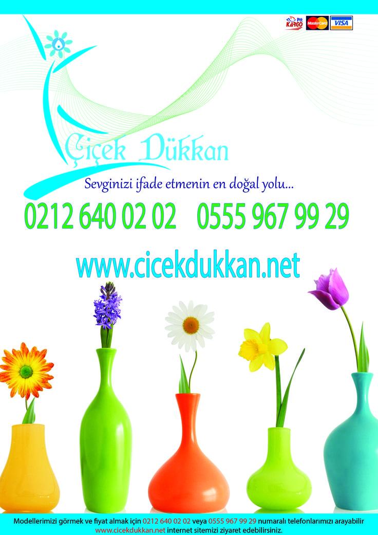 Türkiye nin her yerine çiçek