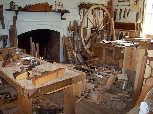 ...you will have your dream woodworking shop, complete ...