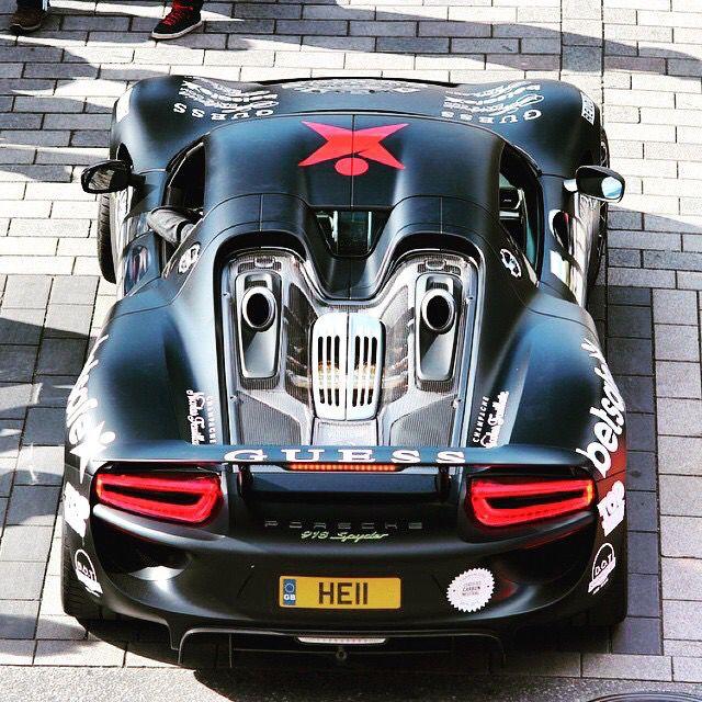 Gumball 3000 2015 Porsche 918