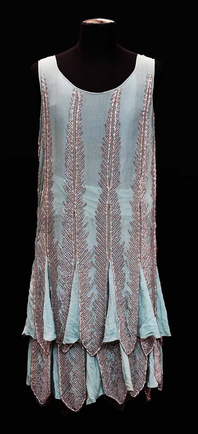Embroidered dress, ca. 1925. Palazzo Madama.