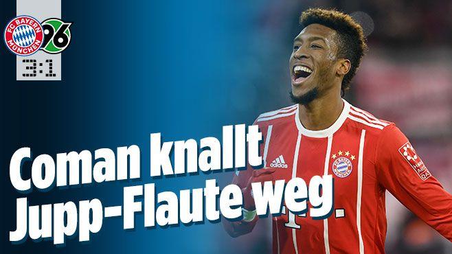 Bayern München gegen Hannover 96 - Bild.de