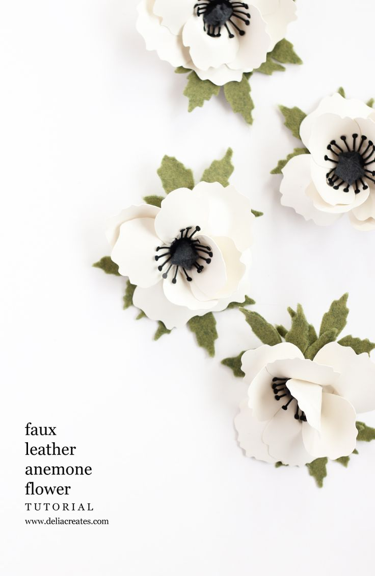 810 best images about silhouette cameo on pinterest cut for Leather flowers for crafts