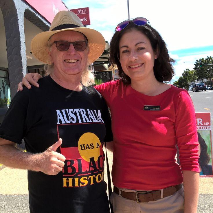 Terri Butler MP my local State Member