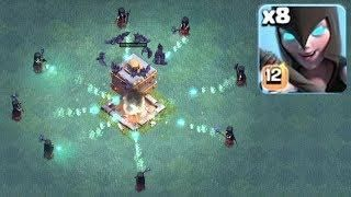 New Update Gem Spree Clash Of Clans Lvl 12 Maxed Witches