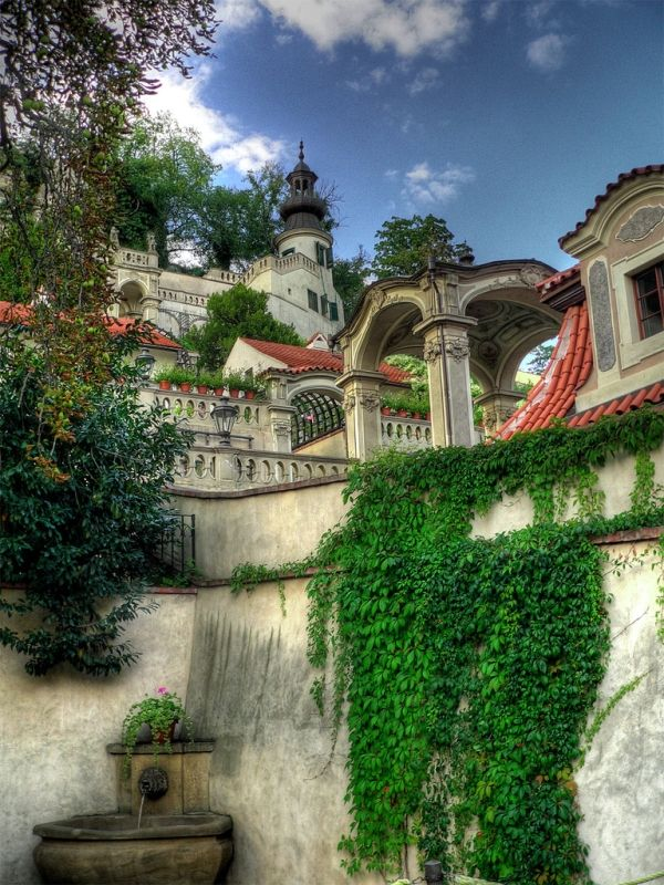 Palace Gardens (below Prague Castle), Czech Republic by andrewdust