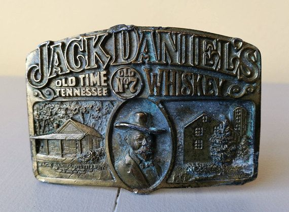 Check out this item in my Etsy shop https://www.etsy.com/uk/listing/515015258/vintage-jack-daniels-no-7-belt-buckle-by