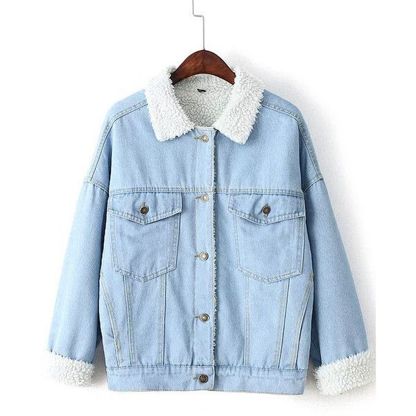 Best 25  Light blue jean jacket ideas on Pinterest | Blue jean ...
