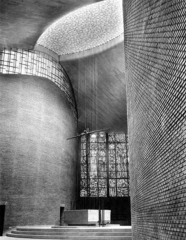 Miguel Fisac, Dominicos Church, Alcobendas, 1955/60