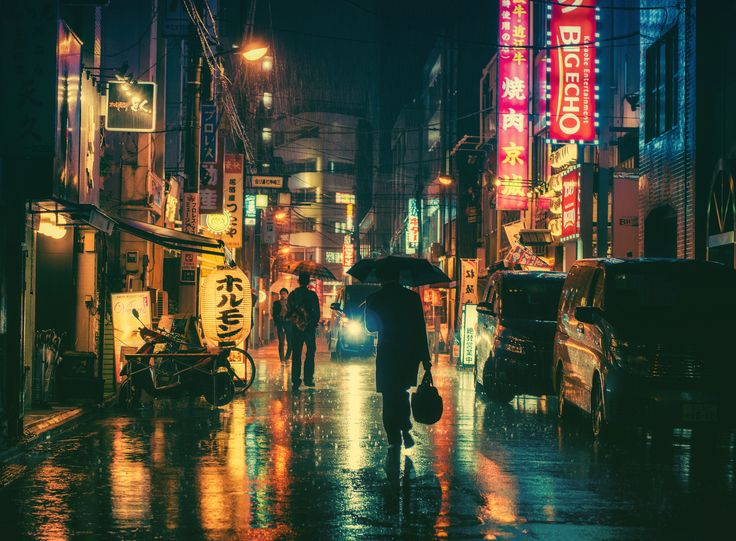 Magical Night Photography Of Tokyo's Streets by Masashi Makui